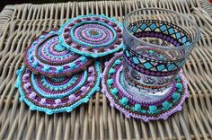 Ravelry: lillabjorncrochet's Mandala Cotton Coaster
