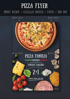 Pizza Restaurant Flyer  Pizza Restaurant Promotion And Pizzas