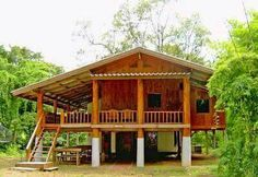 The reality of constructing physics: Warmth proper and incorrect: Thermal insulation is price it: Damming or saving: Architect: development: Cheaper different to construct a wood home: The nice artwork of constructing a small Bamboo House Design, Wooden House Design, Tropical House Design, Simple House Design, Tropical Houses, Rest House, Tiny House Cabin, House In The Woods, Thai House