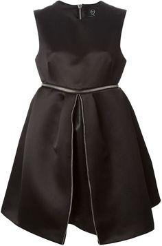 McQ Alexander McQueen zip detailed dress