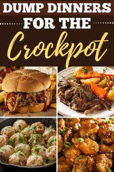 Slow Cooker Lentils, Crock Pot Slow Cooker, Crock Pot Cooking, Slow Cooker Recipes, Crockpot Recipes, Cooking Recipes, Dump Crockpot Meals, Freezer Meals, Freezer Recipes