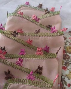 Thread Art, Needle And Thread, Needle Lace, Crewel Embroidery, Punjabi Suits, Baby Knitting Patterns, Drawstring Backpack, Elsa, Most Beautiful