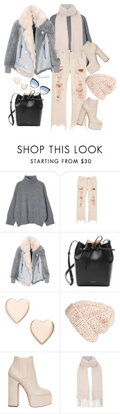 """Chic Oversized Coat😀"" by ragnh-mjos ❤ liked on Polyvore featuring Alexander Wang, Mansur Gavriel, Poppy Finch, Free People, Laurence Dacade, Topshop, Karl Lagerfeld, outfit, coat and february"