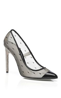 Jason Wu Dovima Pump With Crystal Heel at Moda Operandi -- all of my shoe dreams just came true. i'm convulsing on the floor. i want this.