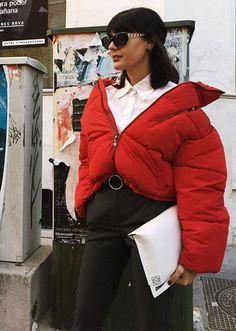 As várias maneiras de usar a sua Puffer Jacket nesse inverno, que, por sinal, já chegou!