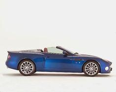 Aston Martin Zagato Vanquish Roadster