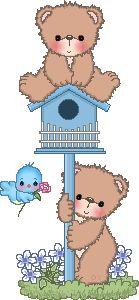 Cute Colors - Ursos ~ Cantinho Luma D. GIFS