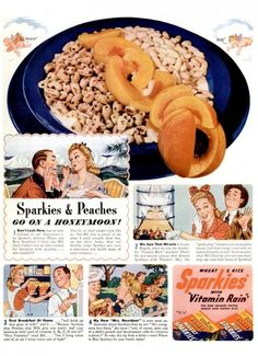 Sparkies Cereal by Quaker Oats.