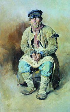 Sergei+Vinogradov+-+A+Peasant+1897.jpg (756×1200)