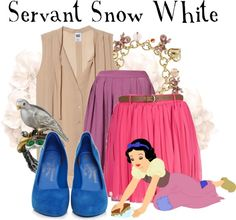 """""""Servant Snow White"""" by agust20 ❤ liked on Polyvore"""