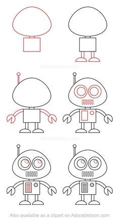 Comment dessiner un robot