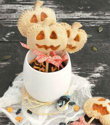 Halloween pop tart au potiron