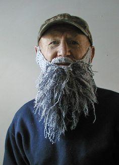 TV program  hand crocheted beard. Starting at $12 on Tophatter.com!