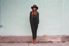 blooming leopold: wrap jumpsuit