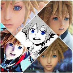 Sora. The hero of light chosen by the Keyblade to stand against the darkness. -Jiminy Cricket's journal.
