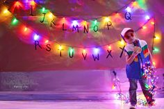 Wishing you all a very Strange Christmas! Holiday shoot inspired by Stranger Things . Stranger Things, Christmas Cards, Lights, Inspired, Concert, Holiday, Inspiration, Strange Things, Christmas E Cards