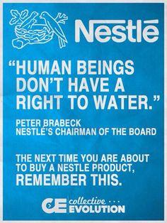 40 Best Boycott Nestle images in 2016 | Bottled water, Food, Faith