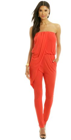 MSGM Jump In Line Jumpsuit