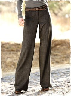 Madison Wide-Leg Trousers.   Love these.  Think I might need for fall...