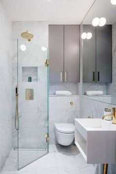 Top 60 Best Corner Shower Ideas Bathroom Interior Designs 2019 Bathroom Ultra Modern Corner Shower Ideas With Brass Fixtures The post Top 60 Best Corner Shower Ideas Bathroom Interior Designs 2019 appeared first on Shower Diy. Tiny Bathrooms, Tiny House Bathroom, Bathroom Design Small, Bathroom Layout, Bathroom Interior Design, Bathroom Ideas, Shower Ideas, Bathroom Remodeling, Bathroom Designs
