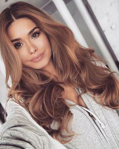 Best Light Brown Hair Color Ideas for 2018 – Page 14 of 28 – Cute Haircuts Ideas – hair – hair Cute Haircuts, Cool Hairstyles, Hairstyle Ideas, Long Wavy Hairstyles, Hairstyle Men, Latest Hairstyles, Wedding Hairstyles, Hair Color Auburn, Brown Hair Dye Colors