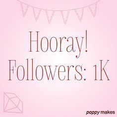 Whoohoo! 1K! 😱 Omg thank you all so much for all the follows and the likes. On to the 10K 😄. Gotta have some dreams right 😉. Don't forget to subscribe to my YouTube channel (link in bio). Have a great weekend! x Poppy 😘 #PoppyMakes #PoppyBakes #1000 #Followers #1K #DIY #DoItYourself #Bake #Baking #Love #PhotoOfTheDay #Happy #PicOfTheDay #InstaDaily #Fun #Repost #IGers #NoFilter #BestOfTheDay #InstaLove #Sweet #InstaDIY #InstaLike #InstaFollow #Follow #Like