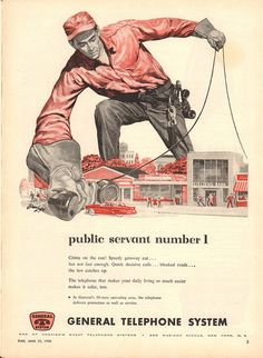 1956 General Telephone System Advertisement Time Magazine June 25 1956 | by SenseiAlan