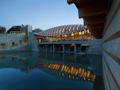 Crystal bridges museum' by safdie architects, bentonville, arkansas, USA
