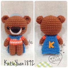 amigurumi cute crochet doll handmade kawaii