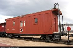 RailPictures.Net Photo: NP 1506 Northern Pacific Railway Caboose at Billings, Montana by AirNikon