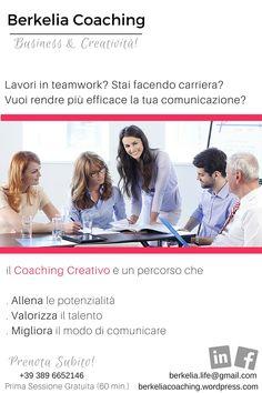 Con il #business #coaching puoi migliorare da subito la tua comunicazione: renderla efficace ti aiuterà a gestire i conflitti e ti permetterà di farti ascoltare; prima e meglio!