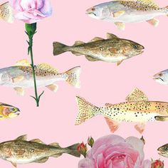 Fish and Roses