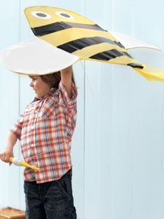 Great tutorial on how to make a kite