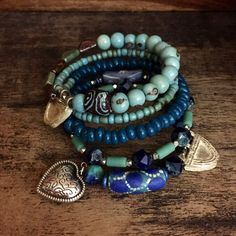 African bracelet - artisan bracelet - tribal - spiral - memory wire bracelet - ethnic jewelry - gypsy bracelet - wrap bracelet - yoga bracel by Omanie on Etsy