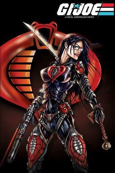 GI JOE Baroness cobra by jamietyndall on DeviantArt Comic Book Girl, Comic Books Art, Book Art, Live Action, Baroness Gi Joe, Comics Anime, Female Comic Characters, Gi Joe Characters, Cobra Art