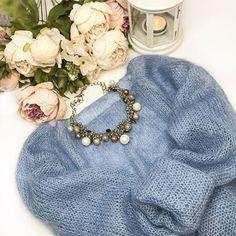 Knitting Charts, Hand Knitting, Knitting Patterns, Crochet Patterns, Raglan, Pullover, Drops Kid Silk, Knitting Projects, Lana