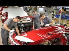 Proses Pembuatan & Perakitan Mobil Sports Super Mewah  BMW i8