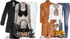 Burberry Fashion Combinations for Winter '13