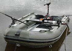 BISON MARINE OLIVE GREEN INFLATABLE FISHING SPORTS AIR RIB BOAT 2.7m ALU DECK in Sporting Goods, Fishing, Fishing Boats | eBay