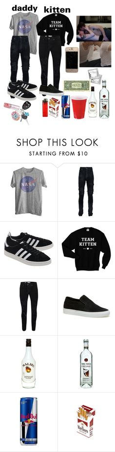 """house party w/ kitten / ddlb"" by sadaiden ❤ liked on Polyvore featuring AMIRI, adidas Originals, Topman, Lacoste, Malibu, men's fashion and menswear"
