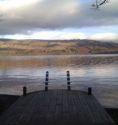 View over Loch Lomond from Luss, Scotland