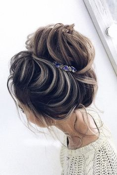 """Perfect Bridal Hairstyles For Big Day Party ❤ See more: http://www.weddingforward.com/bridal-hairstyles/ #weddingforward #bride #bridal #wedding #""""BridalHairstyle"""""""