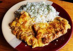 Szaftos, sajtos, tejfölös karaj Meat, Chicken, Food, Essen, Meals, Yemek, Eten, Cubs