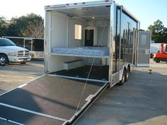 Toy Hauler Enclosed Trailer Camper Cargo Box Conversion