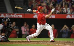 On Saturday night in Anaheim, a 37-year-old Albert Pujols hit the 600th home run of his major league career, a 1-2 pitch in the bottom of the fourth against Minnesota's Ervin Santana for a grand slam. It was, again, time.