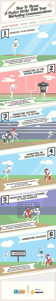 How Do You Throw A Perfect Strike With Your Marketing Communications? #infographic