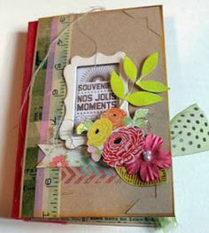 Crafting ideas from Sizzix UK: Altered Book by Karine Cazenave-Tapie
