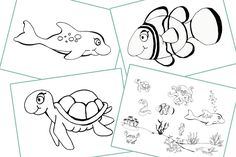 FREE Under the Sea Colouring/Coloring Pages - for children, kids, toddlers, preschool, early years — Colour Cut Stick - FREE Colouring Activities Eyfs Activities, Literacy Games, Color Activities, Seahorse Cartoon, Crab Cartoon, Colouring Pages, Free Coloring, Nursery Practitioner, Early Years Teacher