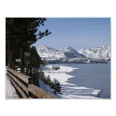 Thanks, Mary, (Carson City, NV) for buying the Lake Tahoe in Snow Poster Enjoy! -Martie (Blue Beach Song)   http://www.zazzle.com/lake_tahoe_in_snow_poster-228589062090446814?size=%5B11.0000%2C8.5000%5D&ratio=1.29411764705882&rf=238706427652551388