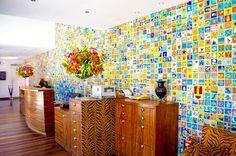 """Mosaico   Hotel DPNY   Ilha Bela - SP   ❥""""Hobby&Decor""""   Inspirações em Decor!   #arquitetura #architecture #decor #interiordesign"""